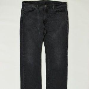 Levis Regular  Black 40x30 559 Cotton Solid